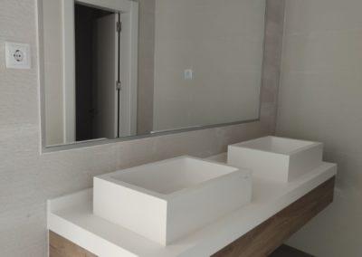 Salón de actos, baños y mamparas Euroambrosías