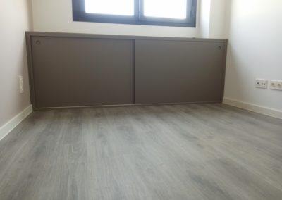 Armario, suelo y mueble de madera en Getafe